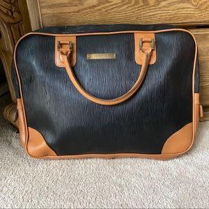 G. Maramotti black Italian briefcase